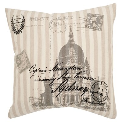 Safavieh Lucas Ramie Decorative Pillow