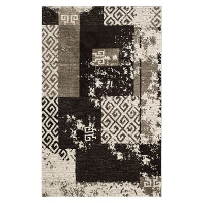 Safavieh Retro Creme / Brown Rug