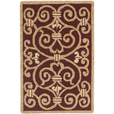 Chelsea Red Iron Gate Rug