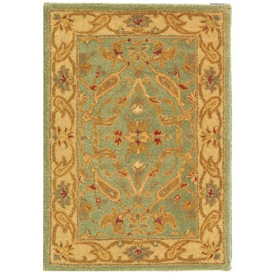 Antiquities Teal/Beige Rug