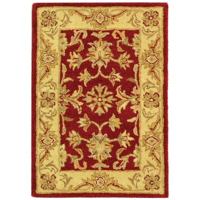 Antiquities Red/Gold Rug