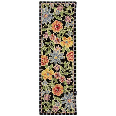 Chelsea Meadow Black/Multi Novelty Rug