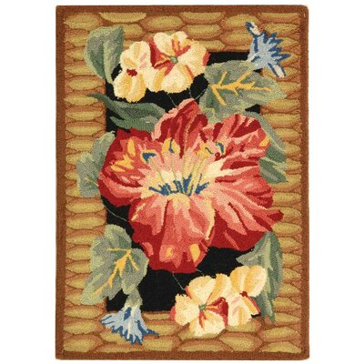 Safavieh Chelsea Black/Brown Novelty Rug