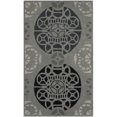 Safavieh Capri Grey / Black Rug