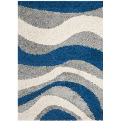 Safavieh Shag Blue and Gray Rug