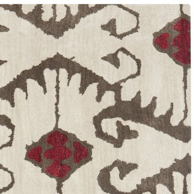 Safavieh Wyndham Ivory Brown Rug