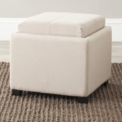 Safavieh Carter Fabric Cube Ottoman