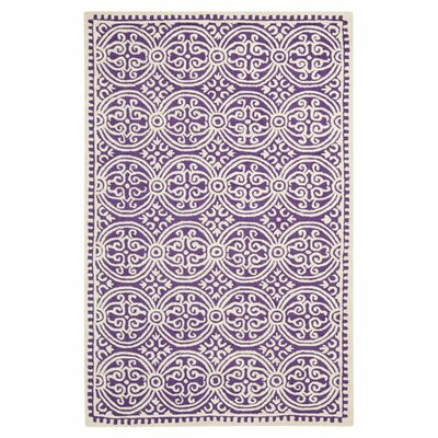 Safavieh Cambridge Purple/Ivory Rug