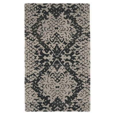 <strong>Safavieh</strong> Wyndham Grey / Black Rug