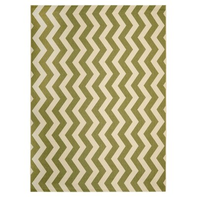 Safavieh Courtyard Green/Beige Indoor/Outdoor Rug