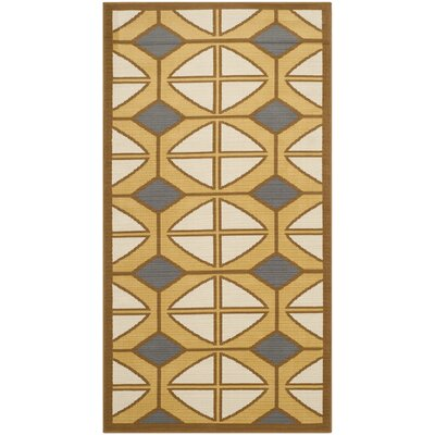 Safavieh Hampton Camel / Ivory Outdoor Rug