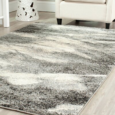 Safavieh Retro Grey / Ivory Rug