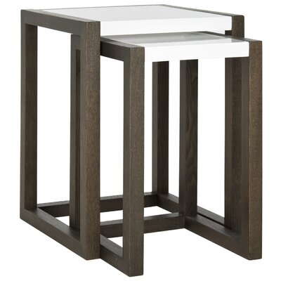 Safavieh Egan 2 Piece Nesting Tables