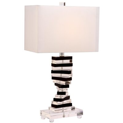 """Safavieh Key 25.75"""" H Table Lamp with Rectangle Shade"""