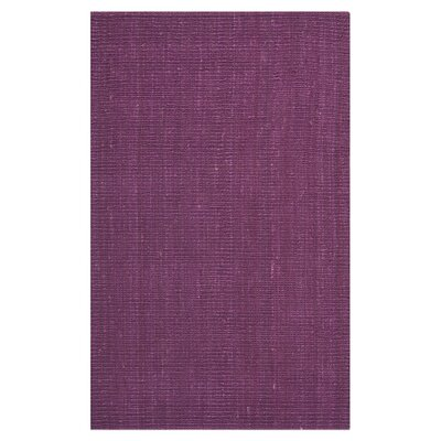 Safavieh Natural Fiber Purple Indoor/Outdoor Rug