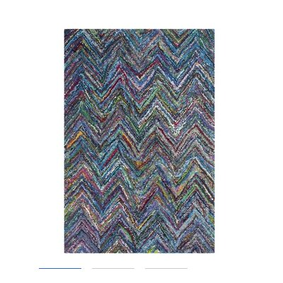 Safavieh Nantucket Blue Chevron Rug