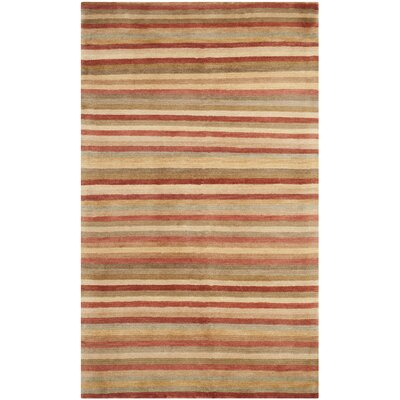 Safavieh Tibetan Rust Stripes Rug