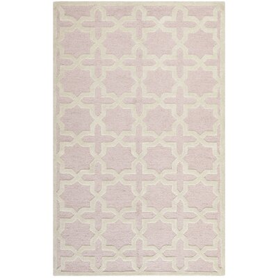 Safavieh Cambridge Light Pink / Ivory Rug
