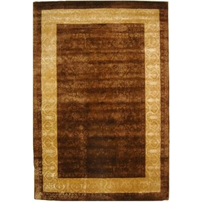 Safavieh Silk Road Chocolate/Light Gold Rug