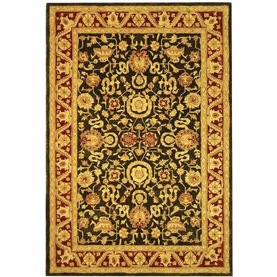 Anatolia Charcoal/Red Rug