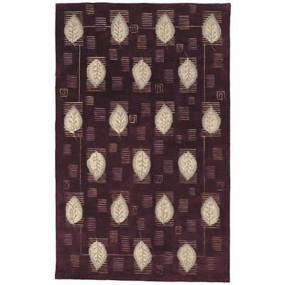 Safavieh Berkeley Plum Leaves Rug
