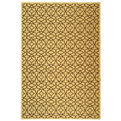 Safavieh Courtyard Natural/Chocolate Rug