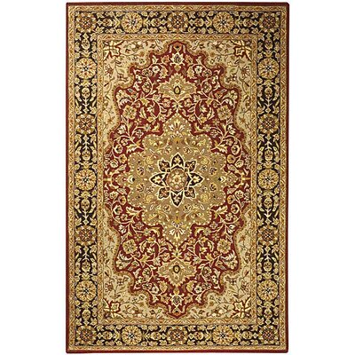 Safavieh Heritage Red/Black Rug