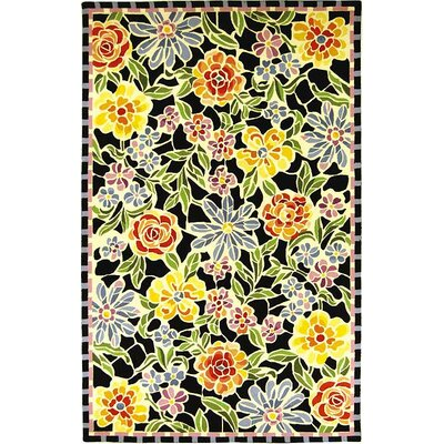 Safavieh Chelsea Meadow Black/Multi Novelty Rug