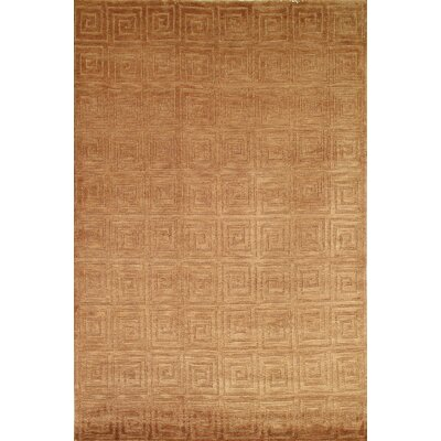 Safavieh Tibetan Greek Key Camel Rug