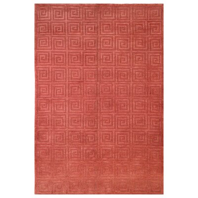 Safavieh Tibetan Greek Key Rust Rug