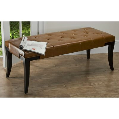 Safavieh Tyler Leather Bench