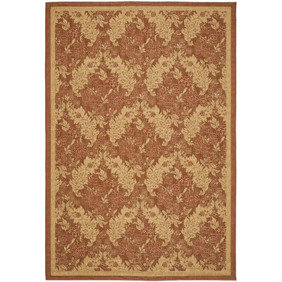 Safavieh Courtyard Brick Rug