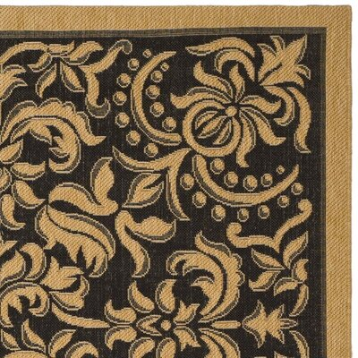 Safavieh Courtyard Dark Black Rug
