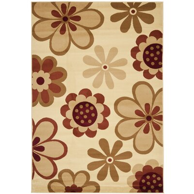 Porcello Ivory/Rust Rug