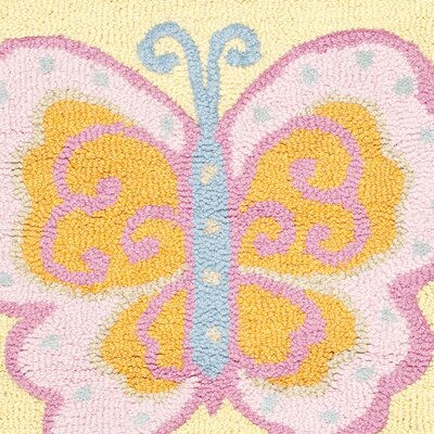 Safavieh Butterfly Center Kids Rug