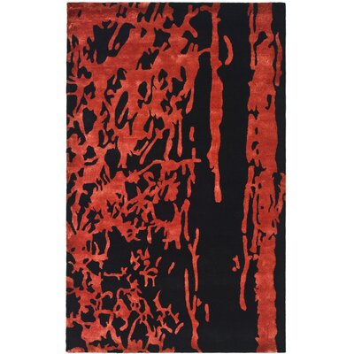 Safavieh Soho Black/Red Rug