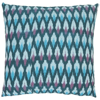 Safavieh Taylor Diamond Ikat Decorative Pillows in Blue (Set of 2)