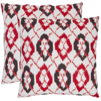 Safavieh Drew Cotton Decorative Pillow (Set of 2)