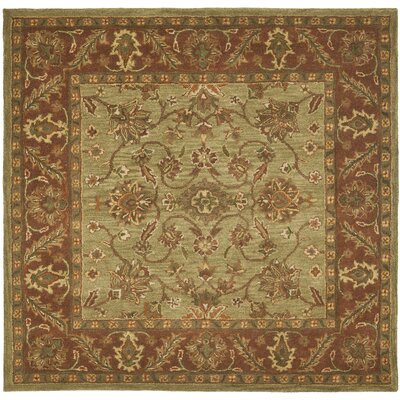 Golden Jaipur Green/Rust Rug