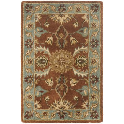 Heritage Brown/Blue Rug