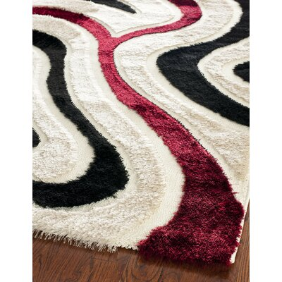 Safavieh Miami Shag Cream/Multi Rug