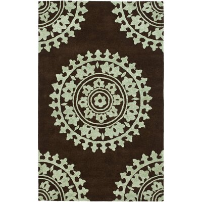 Safavieh Soho Brown/Blue Rug