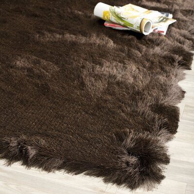 Paris Shag Chocolate Flokati Rug