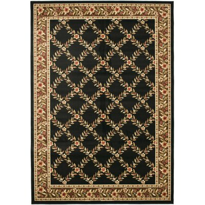 Lyndhurst Black/Brown Rug