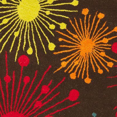 Safavieh Soho Brown/Multi Fireworks Rug