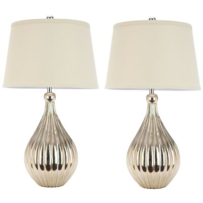 """Safavieh Grace 27.5"""" H Table Lamp with Empire Shade"""