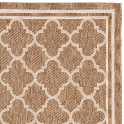 Safavieh Courtyard Brown / Bone Rug
