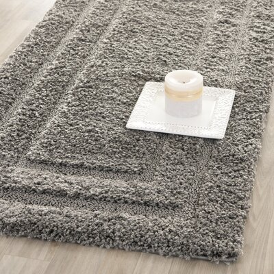 Safavieh Florida Shag Gray Rug