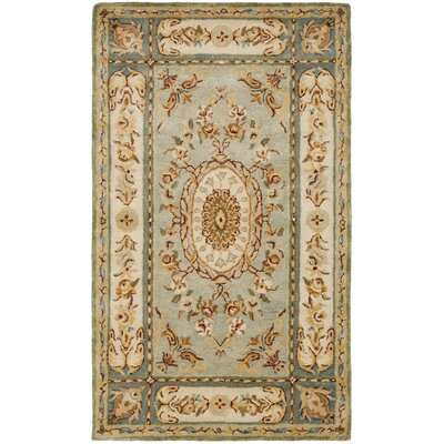 Bergama Light Blue / Ivory Rug