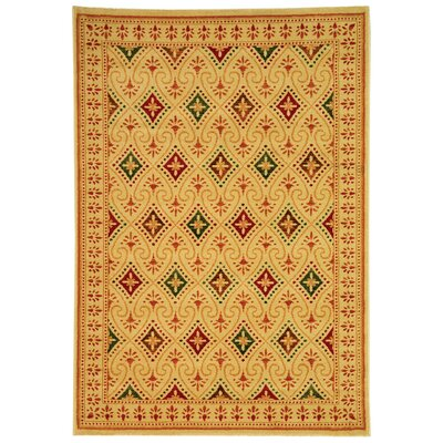 Porcello Yellow Rug